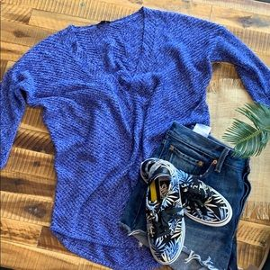 Express deep V sweater size small